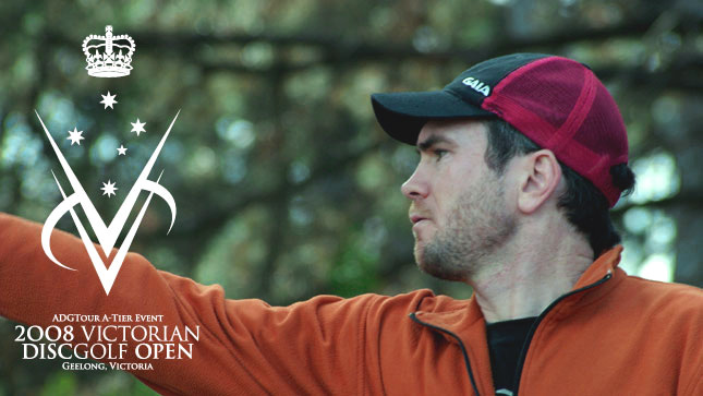 2008 Victorian Disc Golf Open Winner Andrew Dowdy